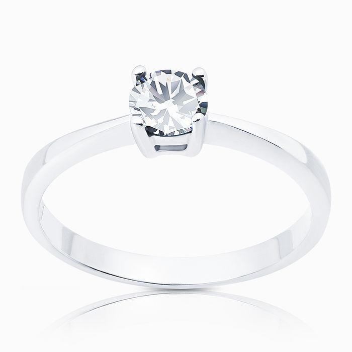Серебряное кольцо Фианит арт. 00759 00759