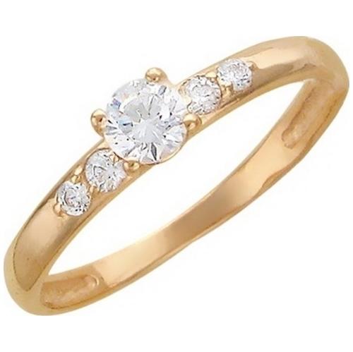 Золотое кольцо Фианит арт. 01к115424 01к115424