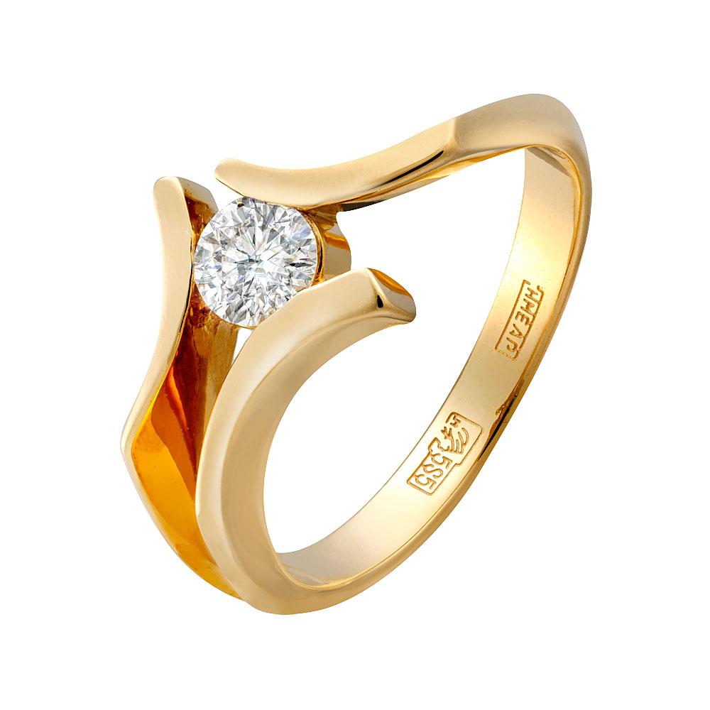 Золотое кольцо Бриллиант арт. 0139/1 0139/1