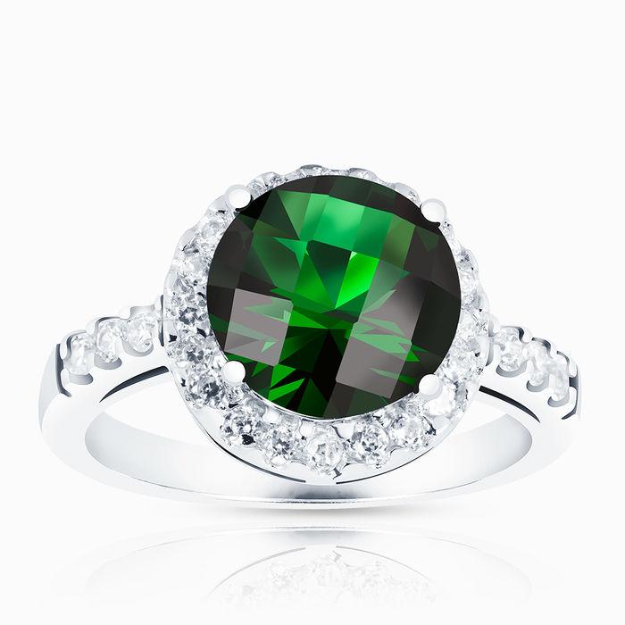 Серебряное кольцо Фианит арт. 00690 00690