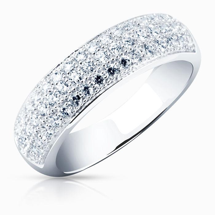 Серебряное кольцо Фианит арт. 00321 00321