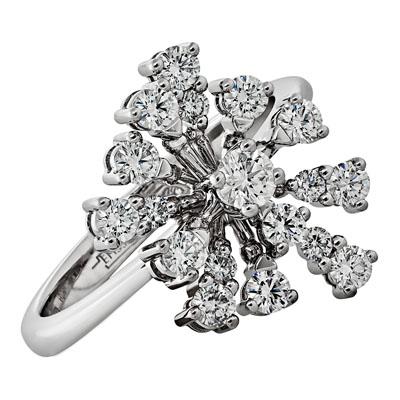 Кольцо из белого золота Бриллиант арт. 010243 010243