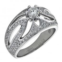 Кольцо из белого золота Бриллиант арт. 010438 010438