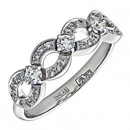 Кольцо из белого золота Бриллиант арт. 010459 010459