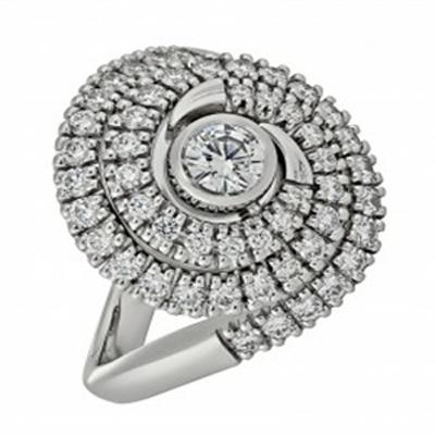 Кольцо из белого золота Бриллиант арт. 010323 010323