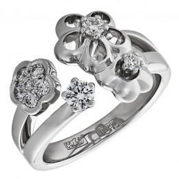Кольцо из белого золота Бриллиант арт. 010450 010450