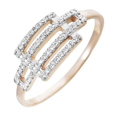 Золотое кольцо Бриллиант арт. 80052.0101 80052.0101