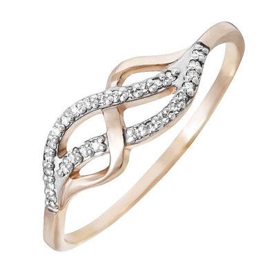 Золотое кольцо Бриллиант арт. 80018.0101 80018.0101