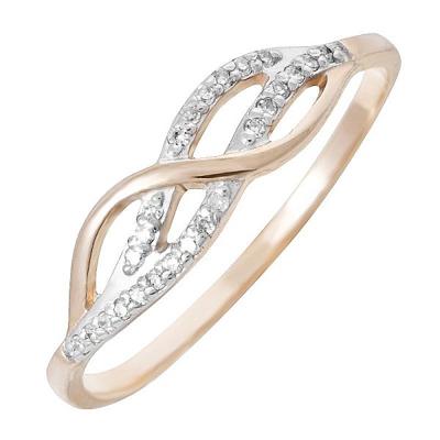 Золотое кольцо Бриллиант арт. 80041.0101 80041.0101