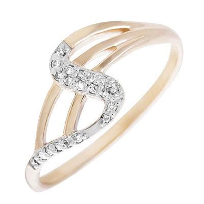Золотое кольцо Бриллиант арт. 80006.0101 80006.0101