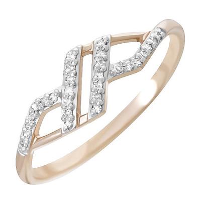 Золотое кольцо Бриллиант арт. 80067.0101 80067.0101