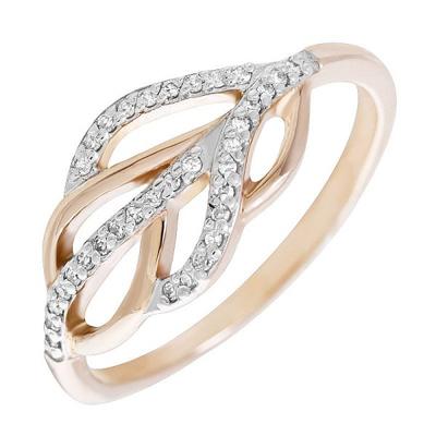Золотое кольцо Бриллиант арт. 80060.0101 80060.0101