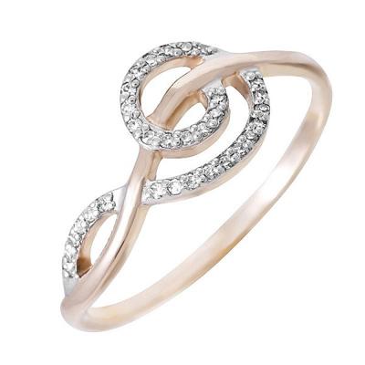 Золотое кольцо Бриллиант арт. 80054.0101 80054.0101