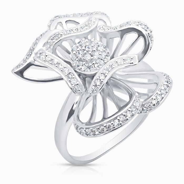 Серебряное кольцо Фианит арт. 00311 00311