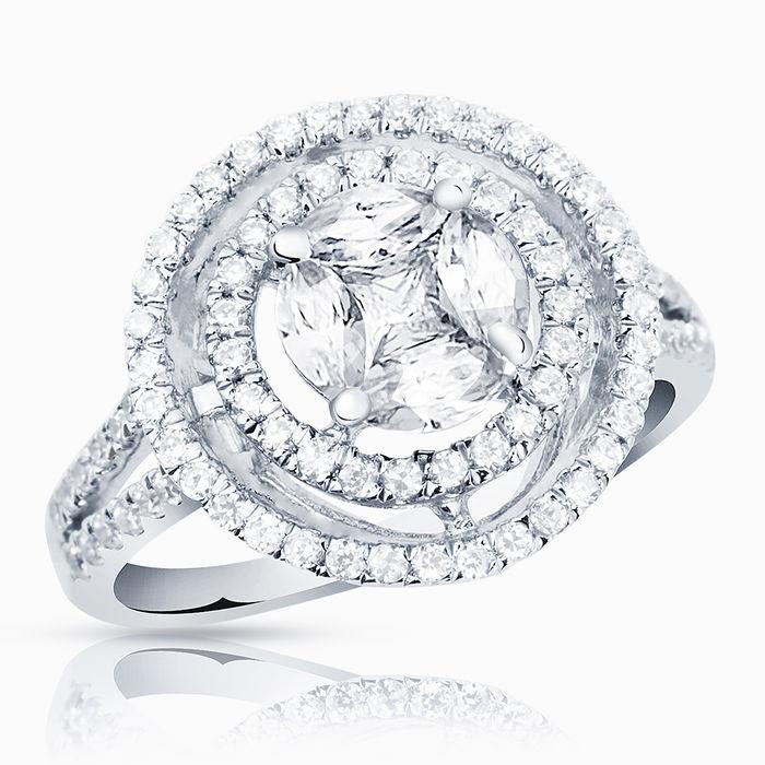 Серебряное кольцо Фианит арт. 01692 01692