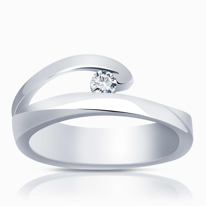 Серебряное кольцо Фианит арт. 02408 02408