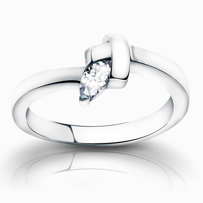 Серебряное кольцо Фианит арт. 02411 02411