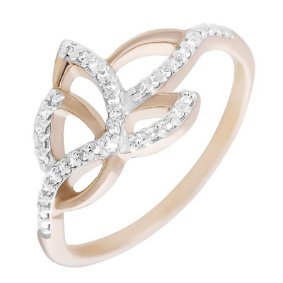Золотое кольцо Бриллиант арт. 80100.0101 80100.0101