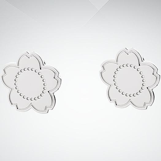 Серьги пусеты из серебра арт. 7014351 11 00 7014351 11 00
