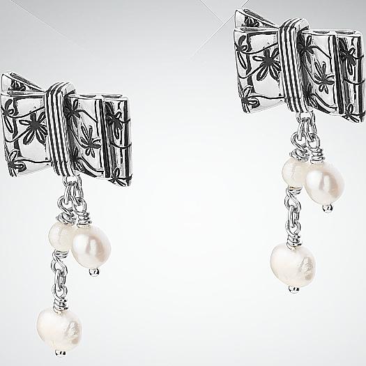 Серебряные серьги арт. 7010-07-00 7010-07-00