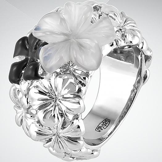 Серебряное кольцо Без вставки арт. 7013-07-52 7013-07-52