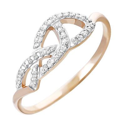 Золотое кольцо Бриллиант арт. 80063.0101 80063.0101