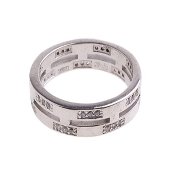 Серебряное кольцо Фианит арт. 4к-5080-04 4к-5080-04