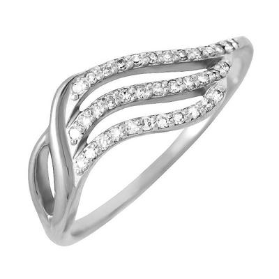 Кольцо из белого золота Бриллиант арт. 80049.0103 80049.0103