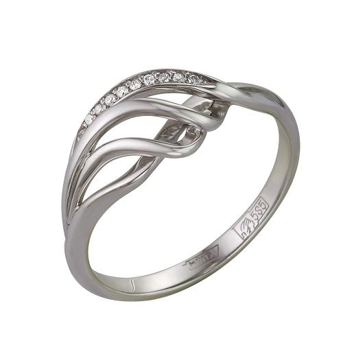Кольцо из белого золота Бриллиант арт. 1-105-189 1-105-189