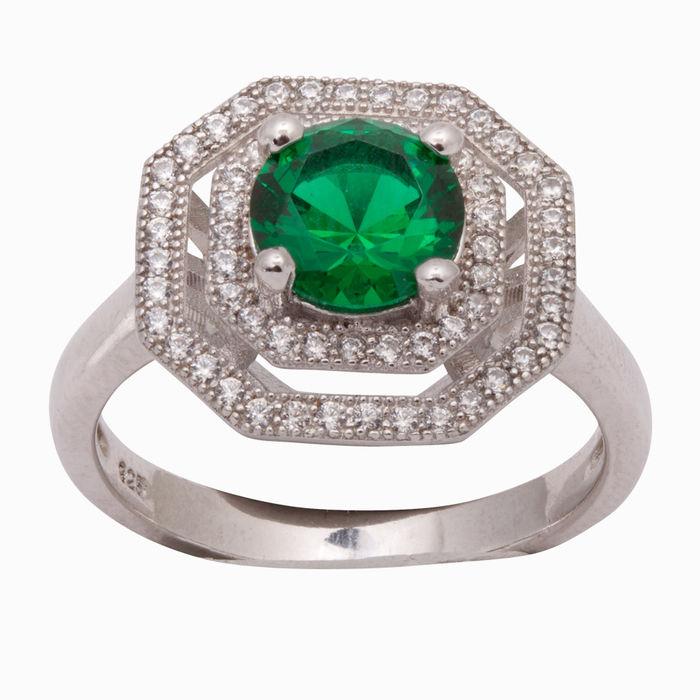Серебряное кольцо Прочие и Фианит арт. 03150 03150