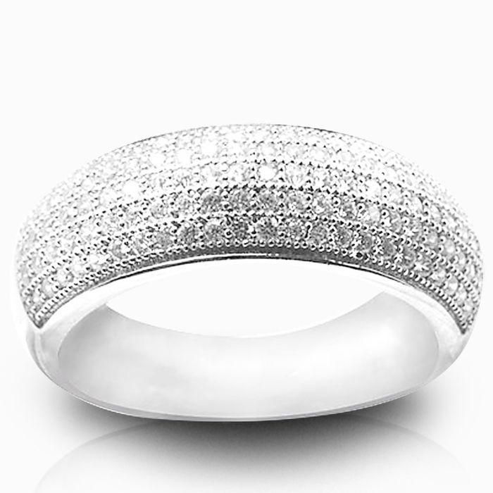 Серебряное кольцо Фианит арт. 00318 00318