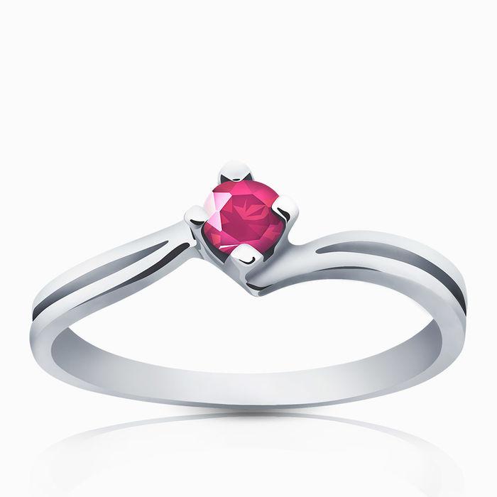 Серебряное кольцо Фианит арт. 03171 03171