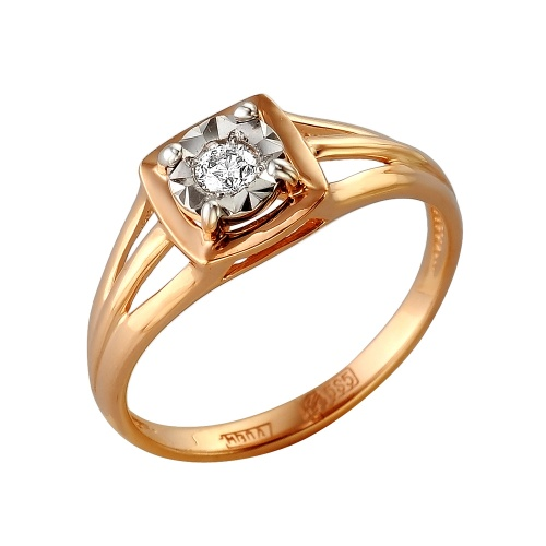 Золотое кольцо Бриллиант арт. 1-105-253/1 1-105-253/1
