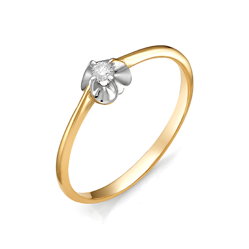 Золотое кольцо Бриллиант арт. 1-105-442/1 1-105-442/1
