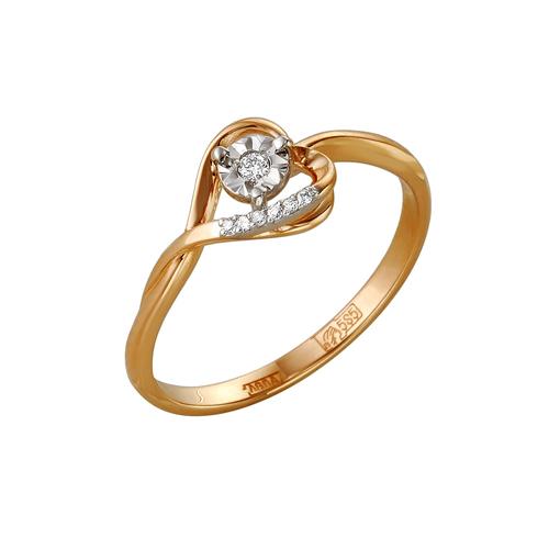 Золотое кольцо Бриллиант арт. 1-105-134/5 1-105-134/5