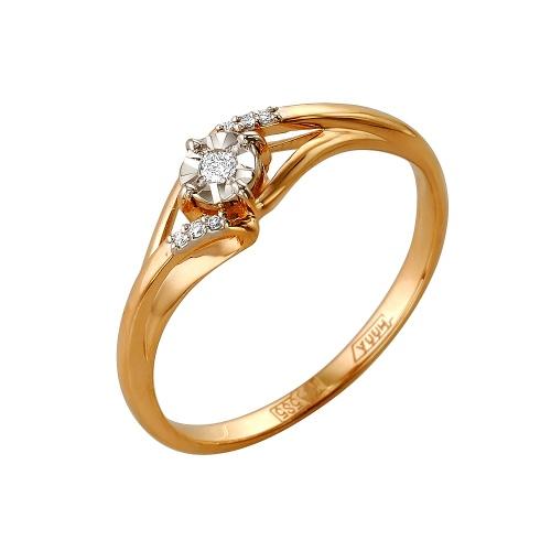 Золотое кольцо Бриллиант арт. 1-105-150/5 1-105-150/5
