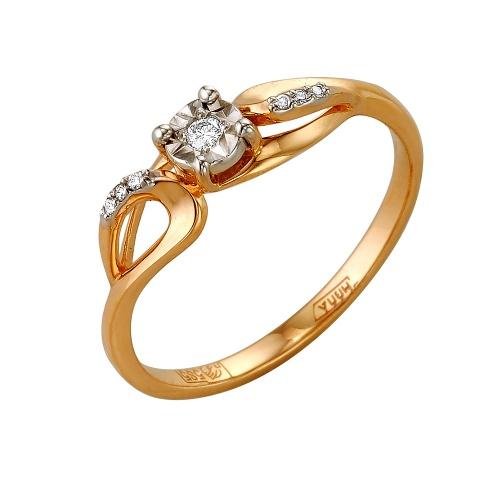 Золотое кольцо Бриллиант арт. 1-105-153/5 1-105-153/5