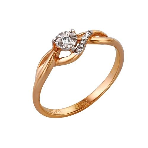 Золотое кольцо Бриллиант арт. 1-105-158/5 1-105-158/5