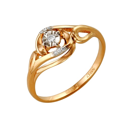 Золотое кольцо Бриллиант арт. 1-105-160/5 1-105-160/5