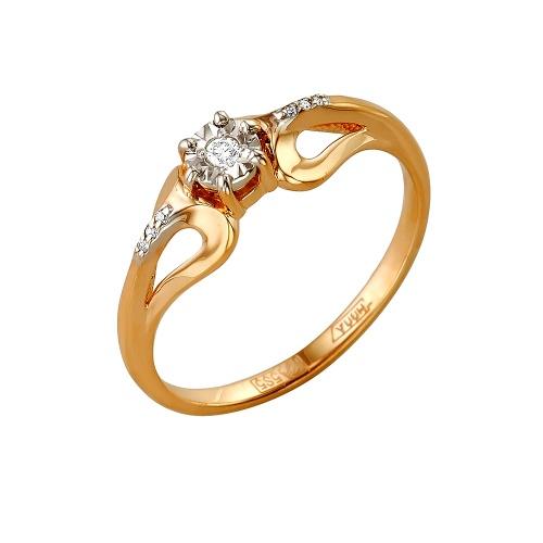 Золотое кольцо Бриллиант арт. 1-105-162/5 1-105-162/5