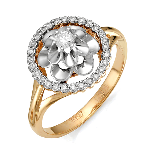 Золотое кольцо Бриллиант арт. 1-105-491 1-105-491