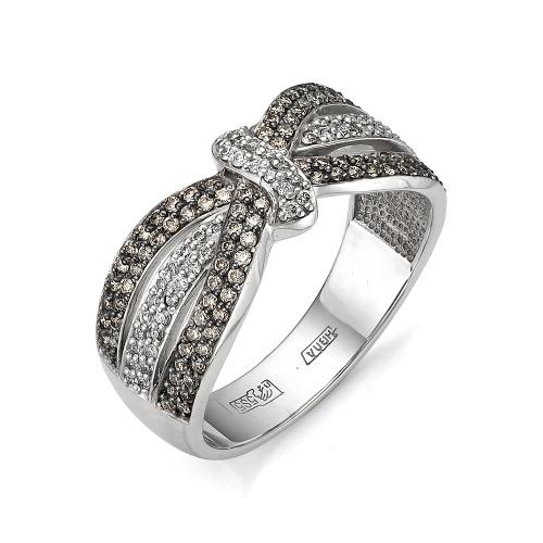 Кольцо из белого золота Бриллиант арт. 1-105-609 1-105-609