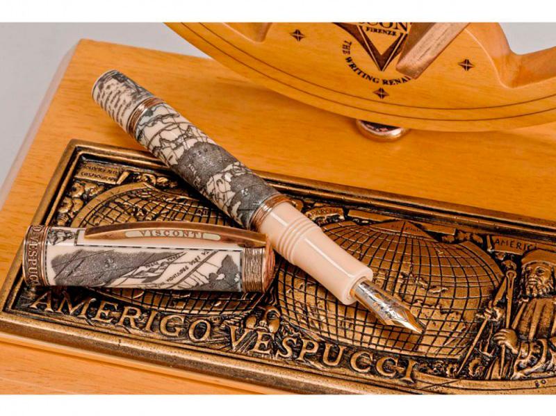 Ручка с бронзой и ювелирной смолой арт. Vs-557-52f Vs-557-52f