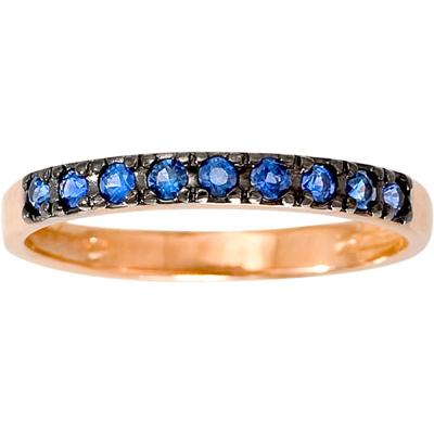 Золотое кольцо Сапфир арт. 1012341-11140-с 1012341-11140-с
