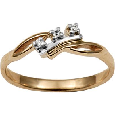 Золотое кольцо Бриллиант арт. 1005851-13240 1005851-13240