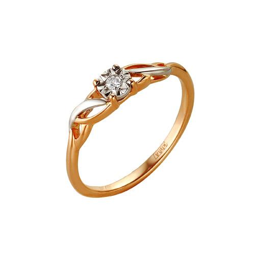 Золотое кольцо Бриллиант арт. 1-104-906/1 1-104-906/1