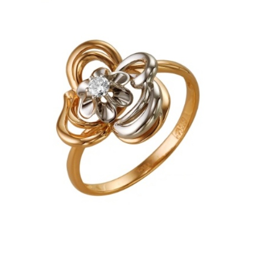 Золотое кольцо Бриллиант арт. 1-105-143 1-105-143