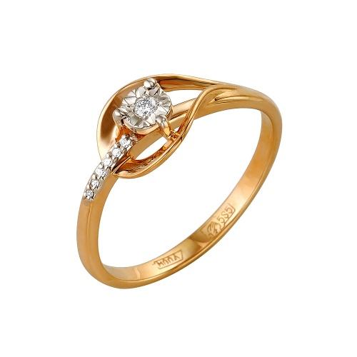Золотое кольцо Бриллиант арт. 1-105-151/5 1-105-151/5