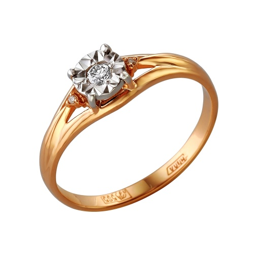Золотое кольцо Бриллиант арт. 1-105-278/1 1-105-278/1