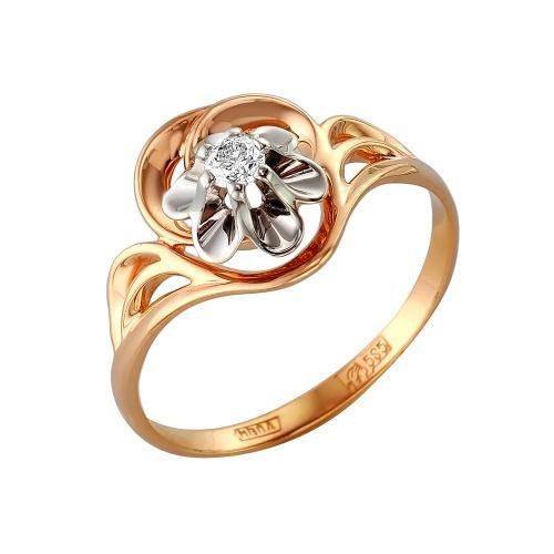 Золотое кольцо Бриллиант арт. 1-105-282 1-105-282